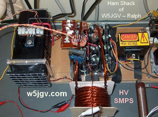 Ham Shack of W5JGV – Ralph