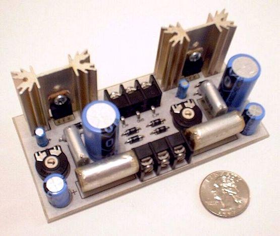 Linear Regulated Dual Polarity Power Supply