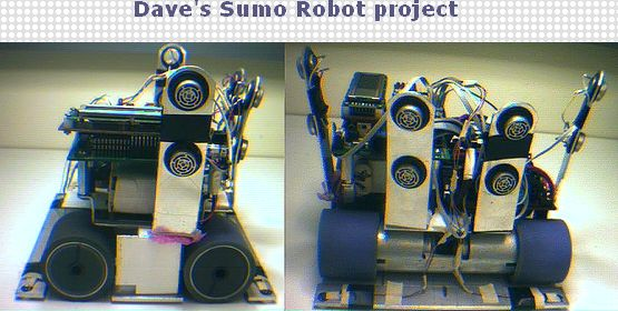 Dave's Sumo Robot project